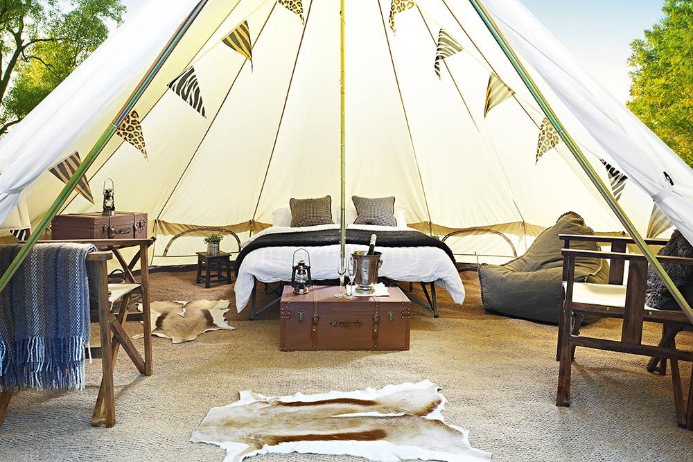 ... Blixen Safarid Bell Tent ... & The Blixen Safari by Forest Bell Tents